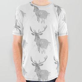 Elk All Over Graphic Tee