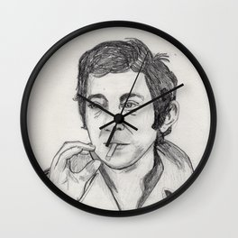 Serge Gainsbourg Wall Clock