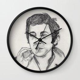 Serge Gainsbourg Wall Clock