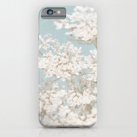 Pale Aqua: Dreaming of Spring iPhone & iPod Case