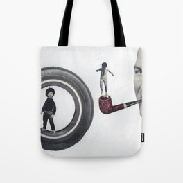 Atlas Jack and His Sister Zoey Tote Bag