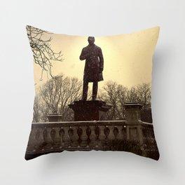 Joseph Locke Throw Pillow