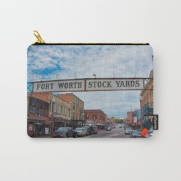 Fort Worth Stockyards Carry-All Pouch