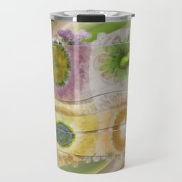 Lazed Consonance Flowers  ID:16165-024553-49331 Travel Mug