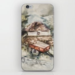 Old trailer iPhone Skin