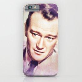 John Wayne, Actor iPhone Case