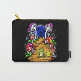 Psychedelic Magic Mushrooms Festival Trip Carry-All Pouch