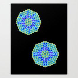 Mandala Project Eight Art Print