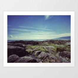 Between sea and sky Art Print
