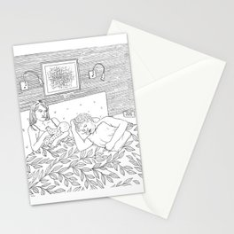 Coloring for Real Grownups. Late Night Stationery Cards