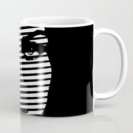 Face  portrait line style #society6 #decor #buyart #artprint Coffee Mug