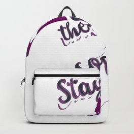 Stay where there are songs Backpack
