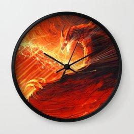 Fire Wall Clock