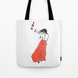Girl: Quincy Tote Bag