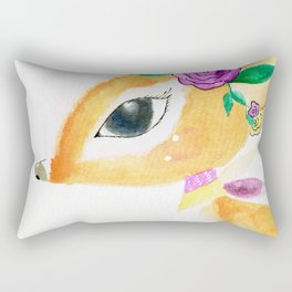 Cute Bambi Rectangular Pillow