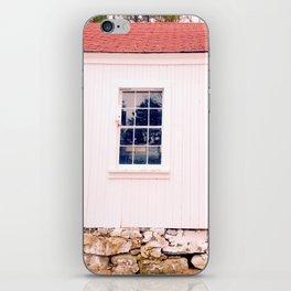 White Barn Window iPhone Skin