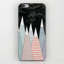 Pastel Peaks iPhone Skin