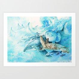 Gulf Stream Art Print