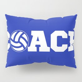 Coach Volleyball Pillow Sham