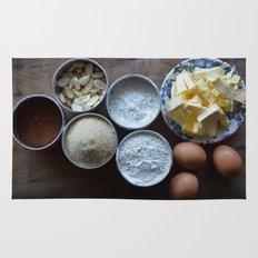 Cake ingredients Rug