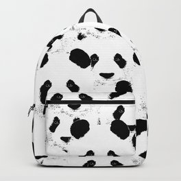Panda pattern Backpack