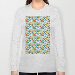 Rose Abstraction Long Sleeve T-shirt