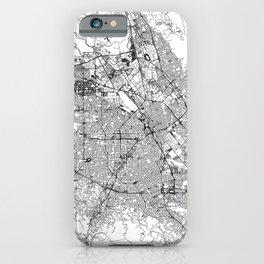 San Jose White Map iPhone Case