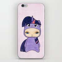 mlp iPhone & iPod Skins featuring A Boy - Twilight Sparkle by Christophe Chiozzi