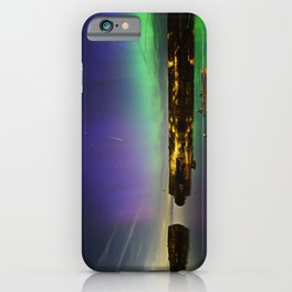 Shooting Star Aurora at Lanes Cove iPhone Case