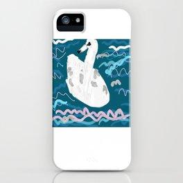 London swan iPhone Case