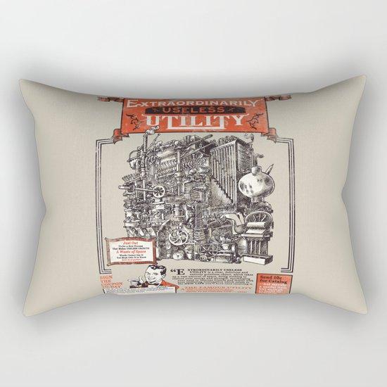 Extraordinarily Useless Utility Rectangular Pillow
