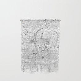 Atlanta White Map Wall Hanging