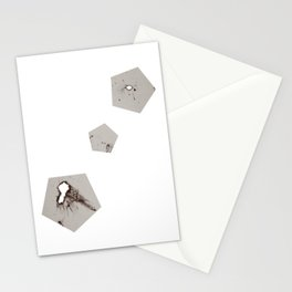 Pentagons of May 3 Stationery Cards