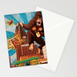 Milwaukee vs. the Super Ape Stationery Cards