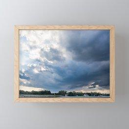 Stormy Weather Framed Mini Art Print
