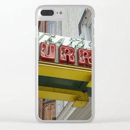 Neato Burrito Clear iPhone Case