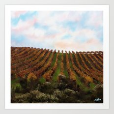 Wine Country Art Print