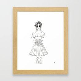 Dama Framed Art Print