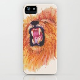 Ink Animals of Africa iPhone Case