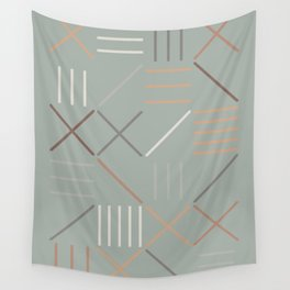 Geometric Shapes 08 Wall Tapestry