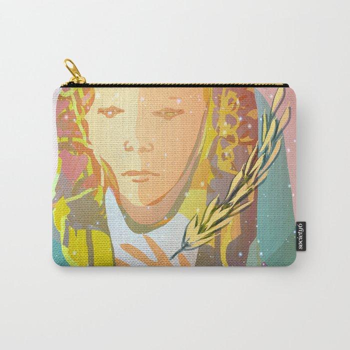 Virgo The Virgin / Zodiac Carry-All Pouch