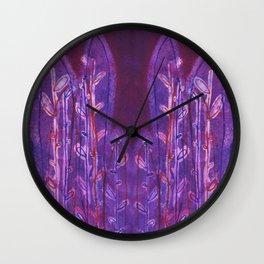 Ferocious Ferns Wall Clock