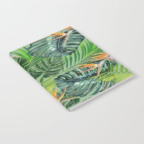 Jungle Tangle Paradise  Notebook