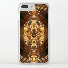 Celestial Shrine Clear iPhone Case