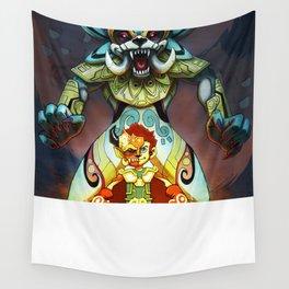 Beast Warrior Wall Tapestry
