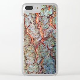 White Pine in Summer Clear iPhone Case