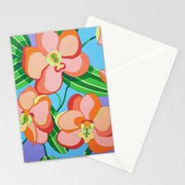 FLOWER PINK (ORCHIDS) Stationery Cards