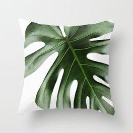 MONSTERA 2 Throw Pillow