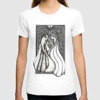 valar morghulis T-shirts featuring Nienna and Yavanna by Anca Chelaru