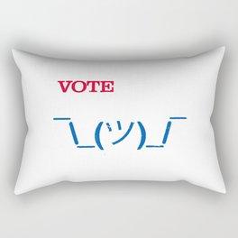 Apathetic Together Rectangular Pillow